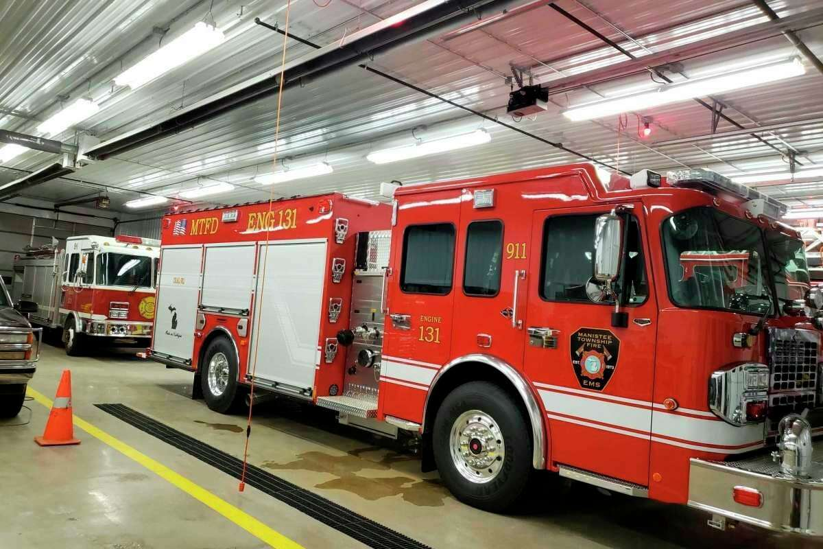 The Manistee Township Fire Department received its first new fire truck in 11 years in December.Chuck Barron, Manistee Township fire chief, said the department's calls to service for fire and medical calls have increasedthis year compared with last year at this time. (File photo)