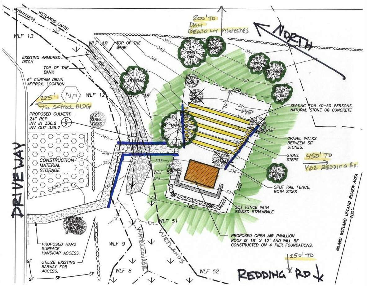 Redding is set to break ground on a new project at John Read Middle. The outdoor learning space is designed to include an amphitheater with seating for 50 students and a small pavilion.