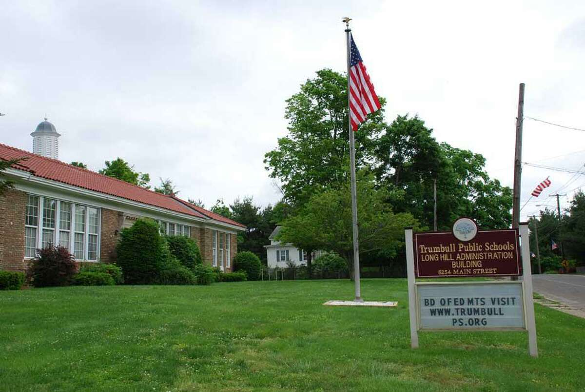 The Long Hill school administration building.