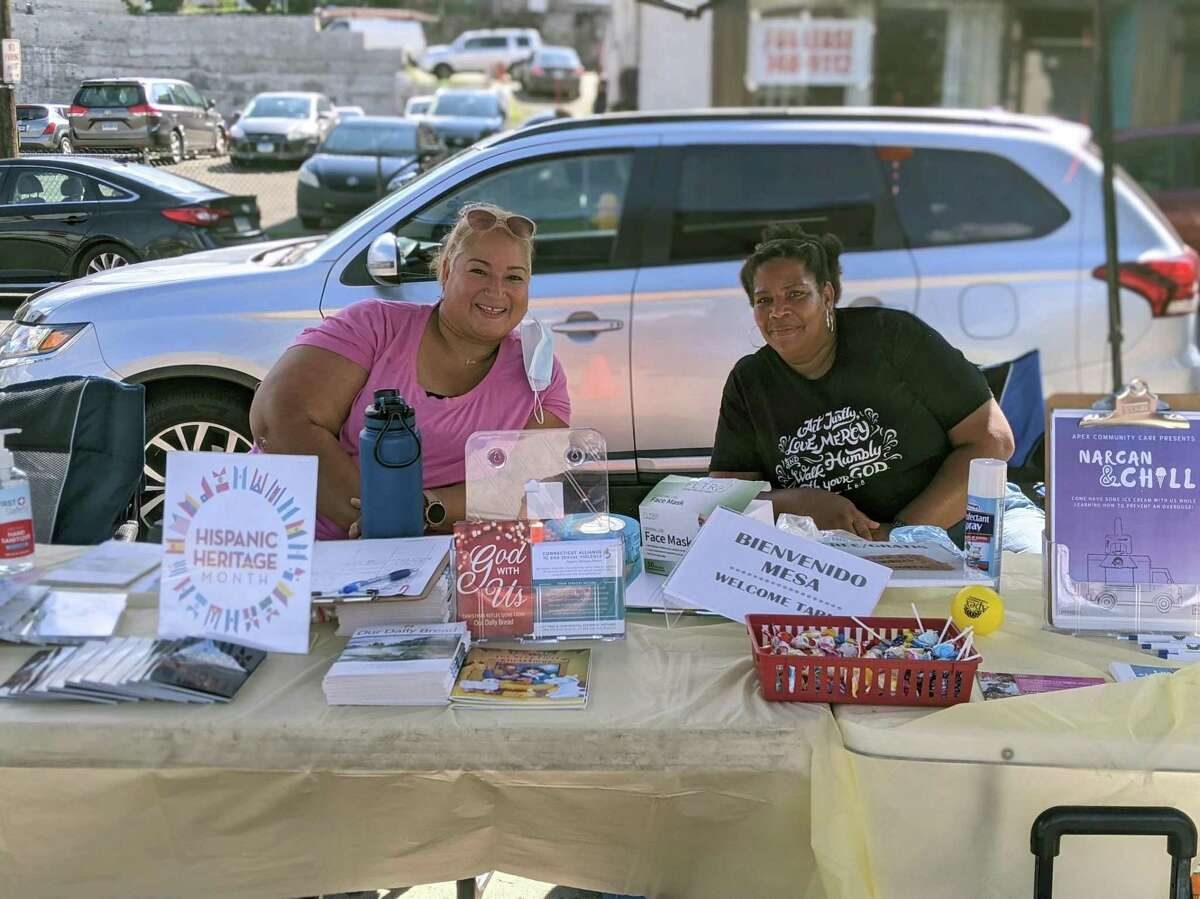There were various resources available in downtown Danbury on Saturday, Sept. 18 during a celebration for Hispanic Heritage Month.