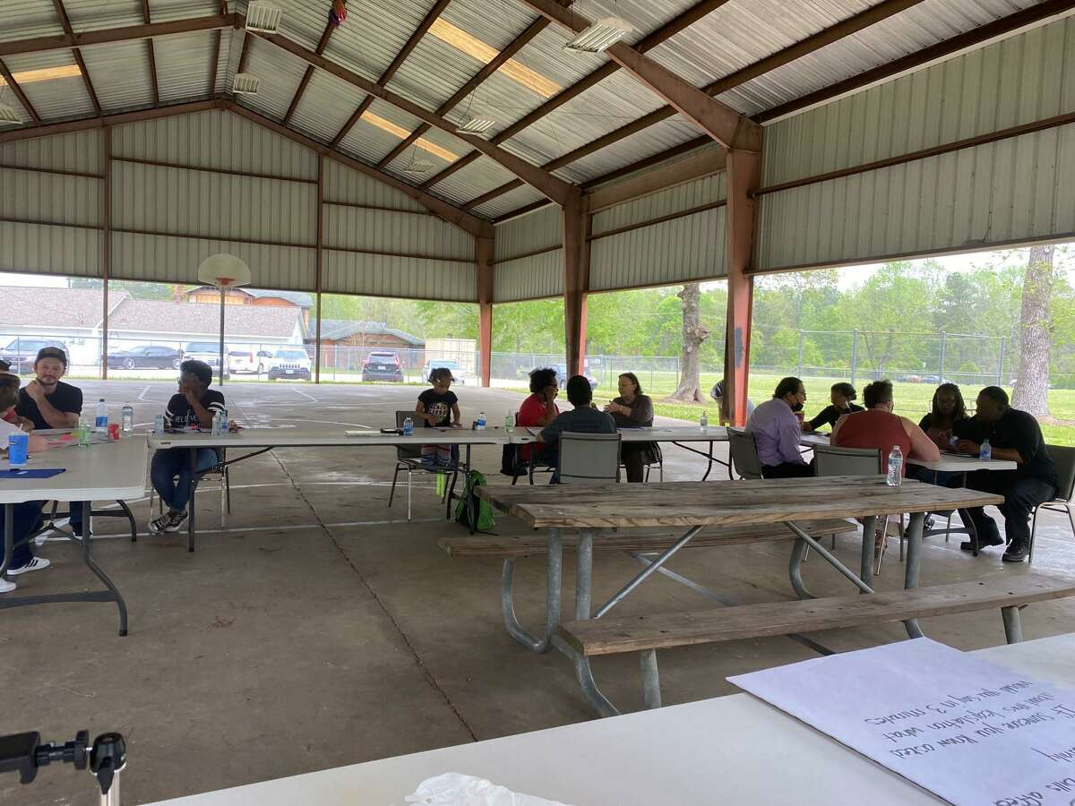 Several Texas Criminal Justice groups, including the Statewide Leadership Council and the local NAACP chapter, will be hosting an event on Sunday, Oct. 3, 2021 in Conroe to engage and educate residents about criminal justice issues. The SLC hosted a similar event at the same location, seen here, in March.