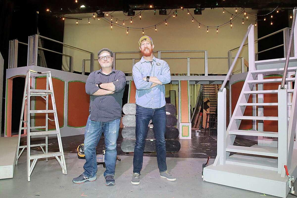 """Director David Eck and designer Joe Piper have combined talents for Art Park Players' production of """"Urinetown: The Musical."""""""
