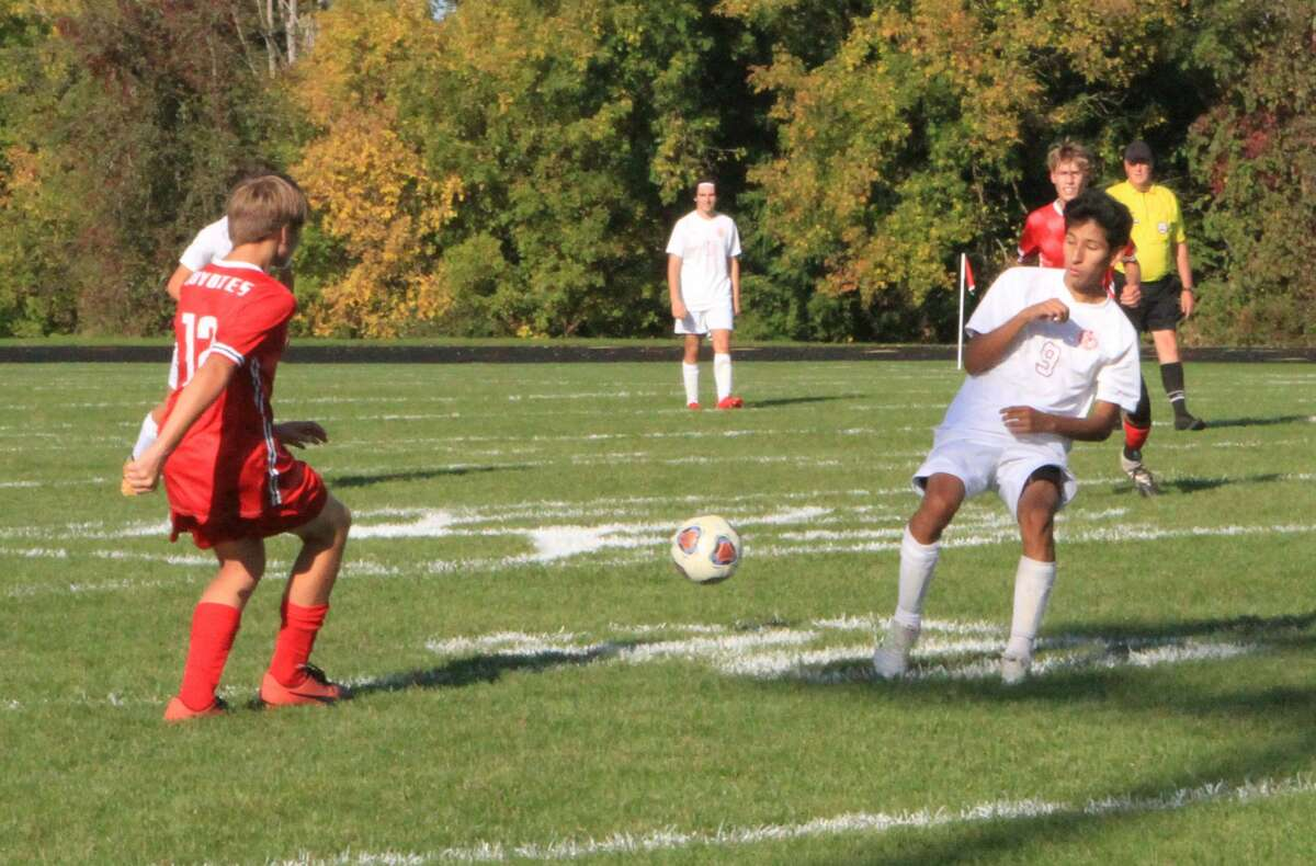 The Big Rapids soccer team defeated Reed City 8-0 on Thursday afternoon.