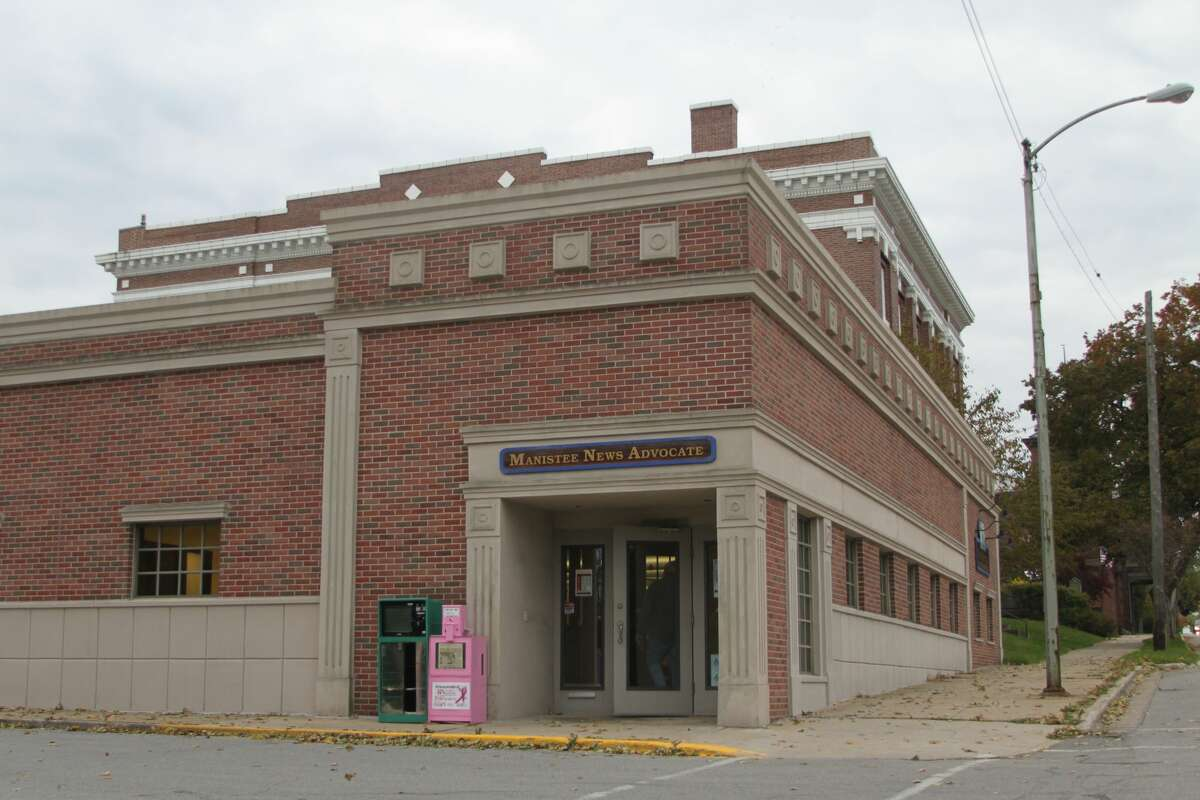 The Manistee News Advocate is located at 75 Maple St. in Manistee.