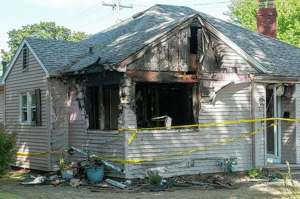 A family was forced out of its home after a house fire late Wednesday at 216 E Greenwood Ave. Fire crews were on the scene until 1 a.m. Thursday.