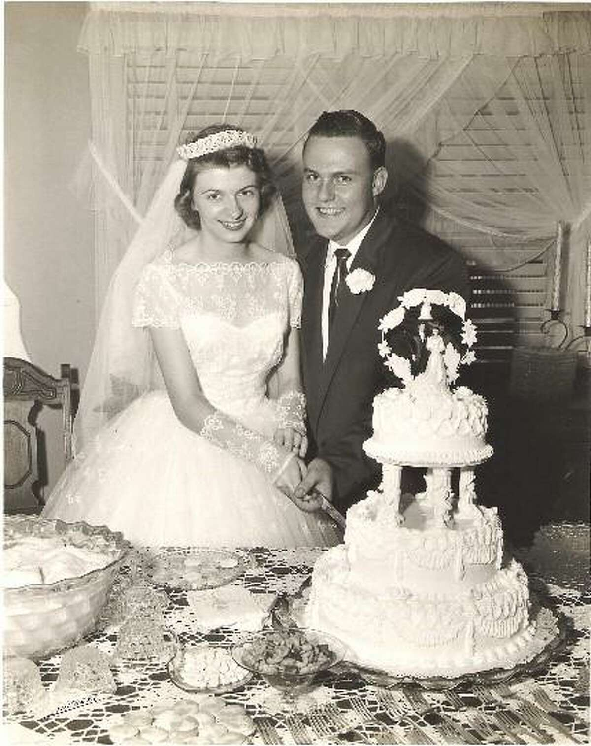 Bill and Martha McCart of Shelton, married in Cape Girardeau, Missouri, celebrated their 65th Wedding Anniversary on August 25th.