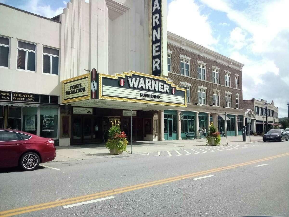Warner Theatre in downtown Torrington.