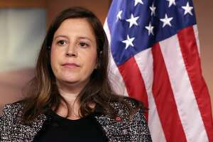 U.S. Rep. Elise Stefanik at a press briefing following in the U.S. Capitol on June 29, 2021 in Washington, DC.