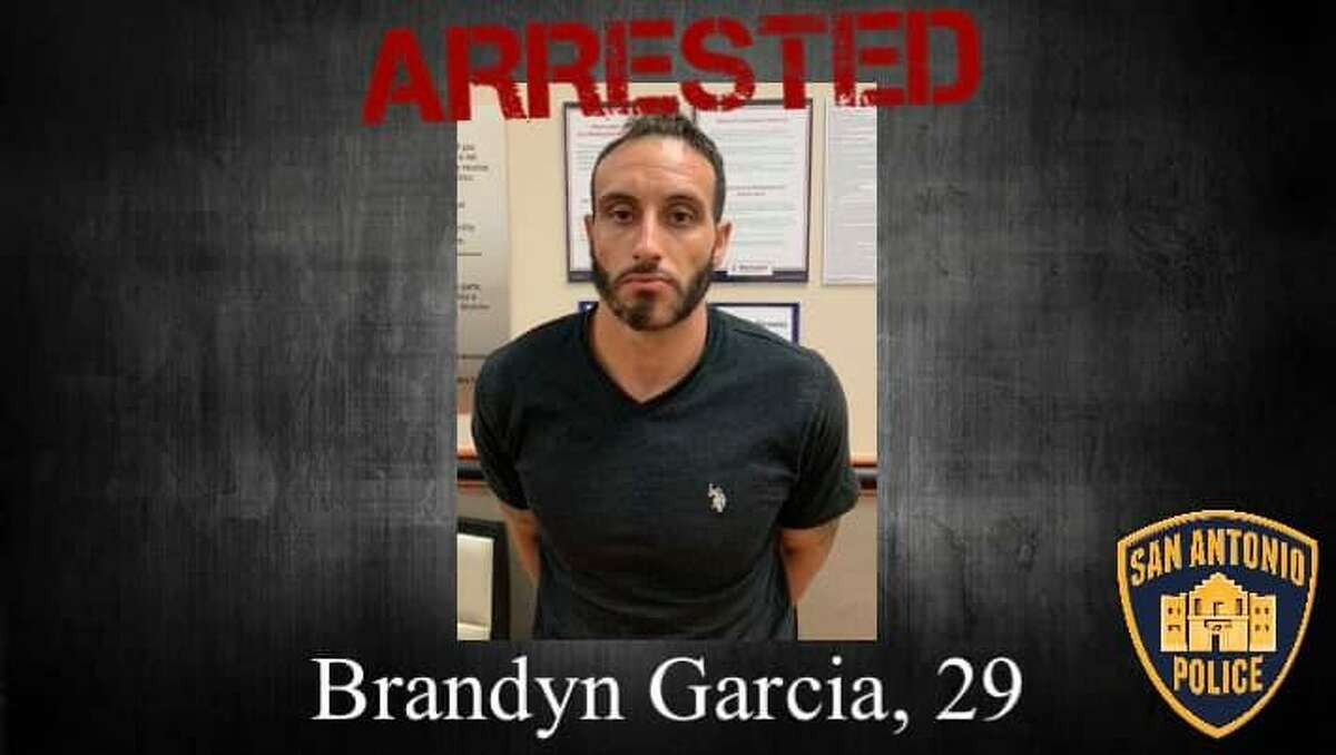 Brandyn Alexander Garcia, 29, was arrested for allegedly kidnapping and sexually assaulting a woman jogging at Brackenridge Park.