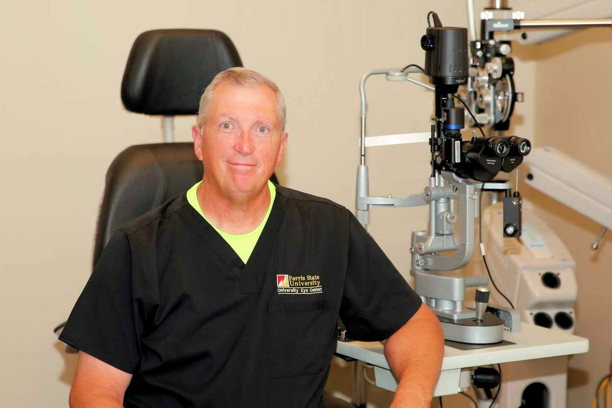 Dr. Philip Walling, a professor in Ferris State University's Michigan College of Optometry was ranked by Newsweek on a roster of America's Best Eye Doctors for 2021. (Courtesy photo)