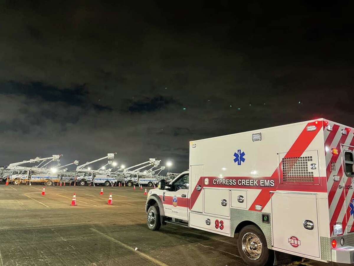 Cypress Creek EMS has signed a contract with St. Luke's in the Woodlands and Vintage Park to provide medical transport services.