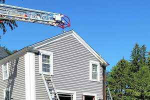 Haddam Volunteer Fire Co., Middletown's South Fire District and other mutual aid companies helped extinguish a structure fire Wednesday morning on Saybrook Road in Higganum.