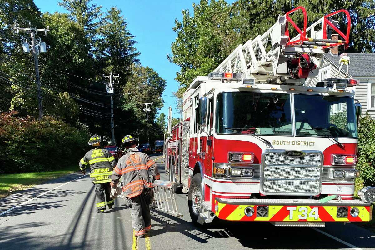 Middletown's South Fire District helped extinguish a structure fire Wednesday morning on Saybrook Road in Haddam.