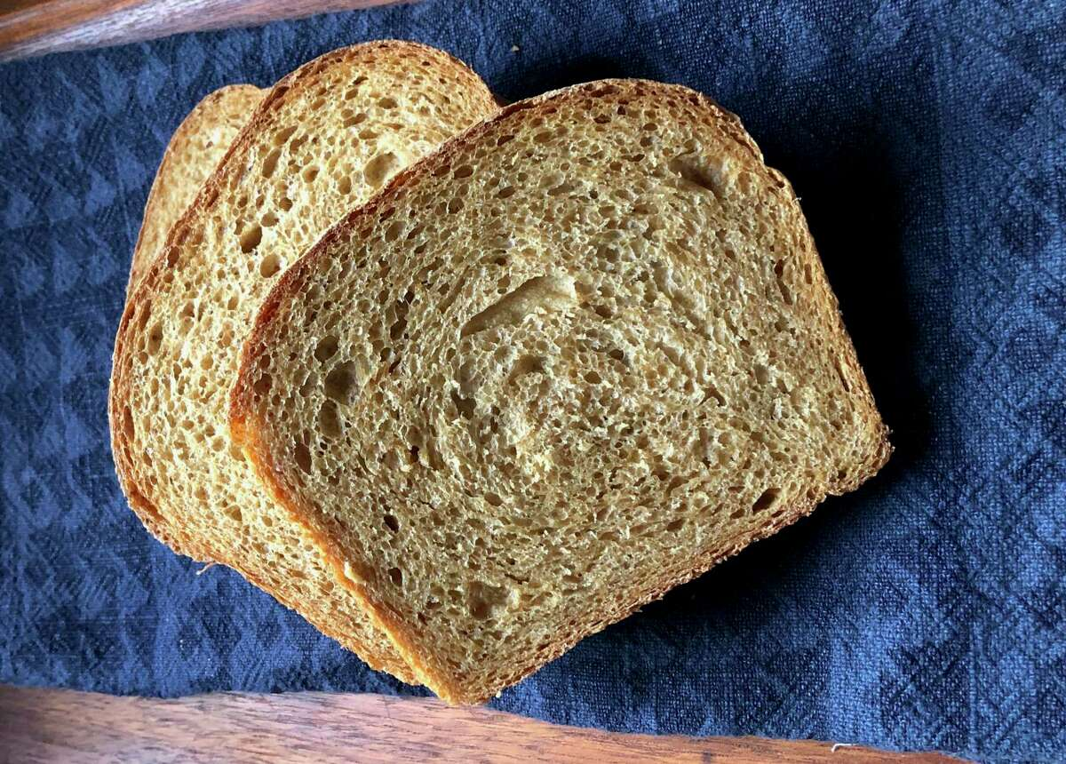 Polly Warren's Anadama Bread is an easy New England bread gently sweet from molasses, with a tender crumb.