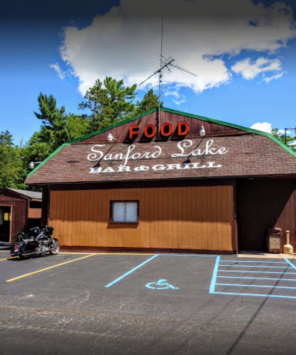 Appetizer Menu: Sanford Lake Bar & Grill.