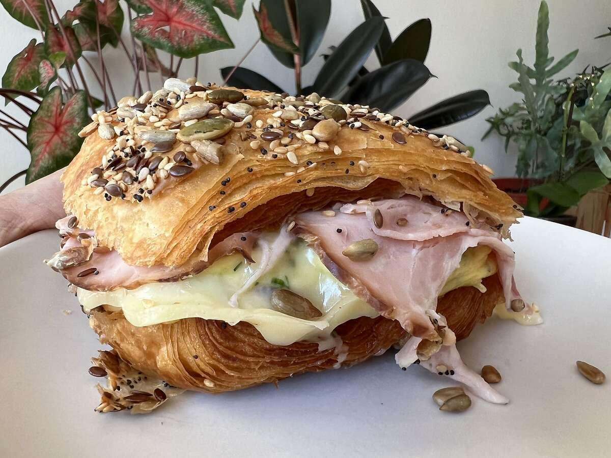 A grovbirkes sandwich from Kantine in S.F.