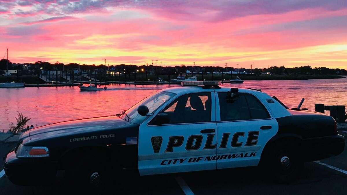 Norwalk police cruiser - file photo.