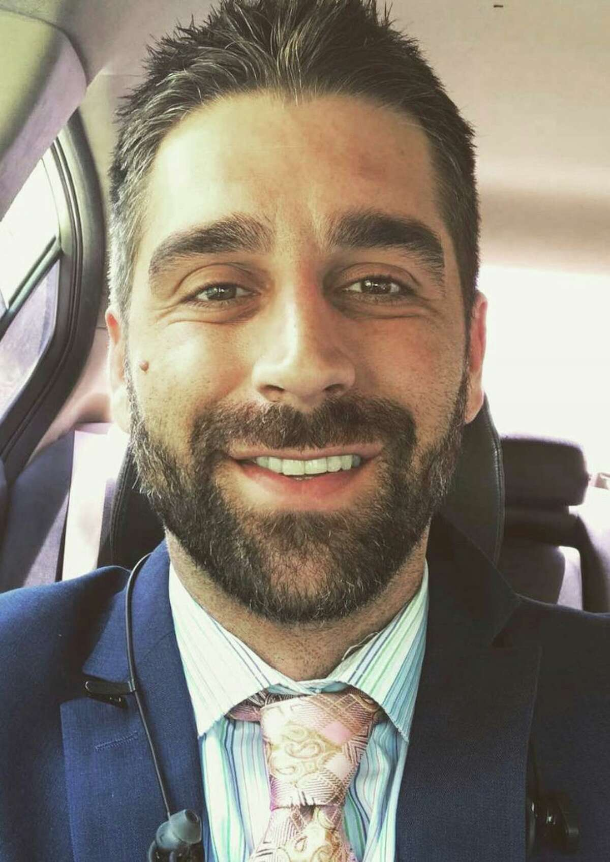 This is Matthew Carl Mazzocco, 37, of San Antonio. He was arrested in connection with the insurrection at the U.S. Capitol on Jan. 6, 2021.