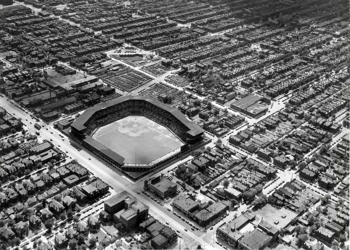 Sportsman's Park, later known as Busch Stadium, was the site of the all-St. Louis 1944 World Series between the Browns and Cardinals. The Cardinals won, and the Browns left several years later in 1953 for Baltimore.
