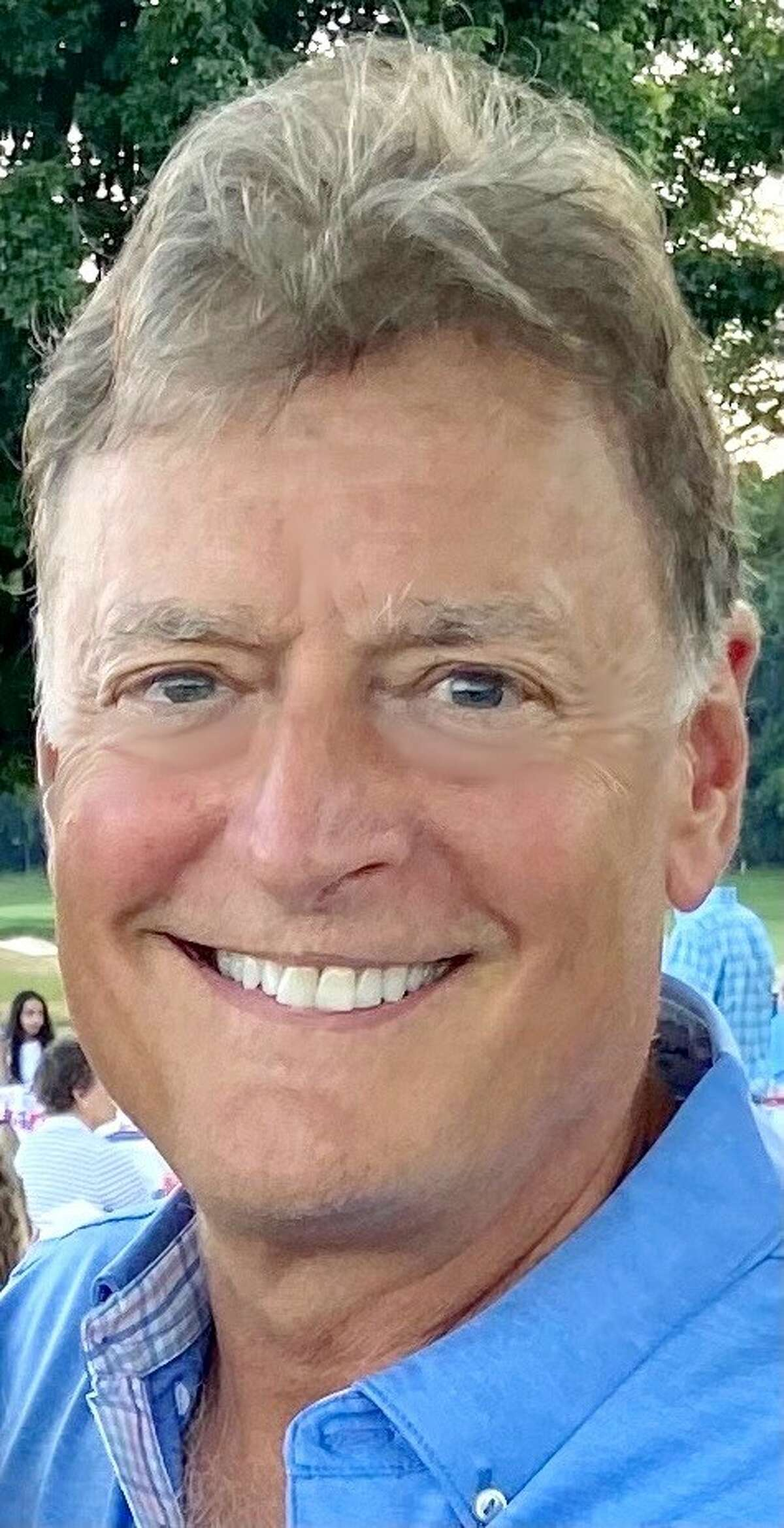 Republican candidate for Colonie town supervisor, Peter Crummey.