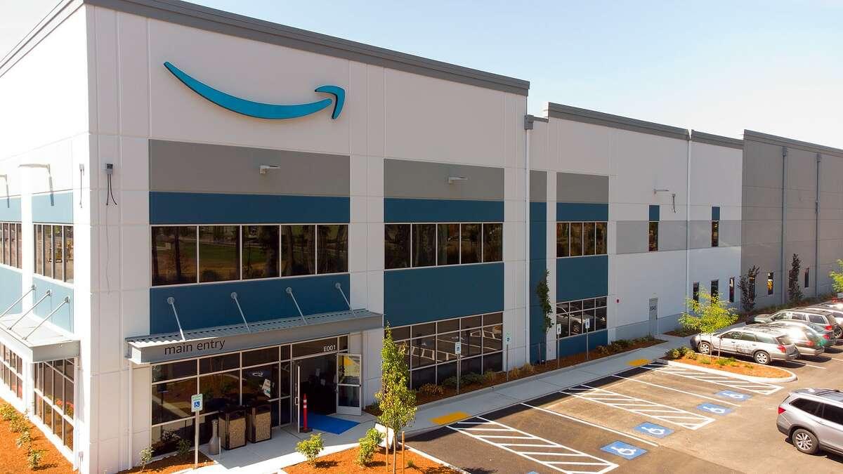 New Amazon location in Lacey, Washington.