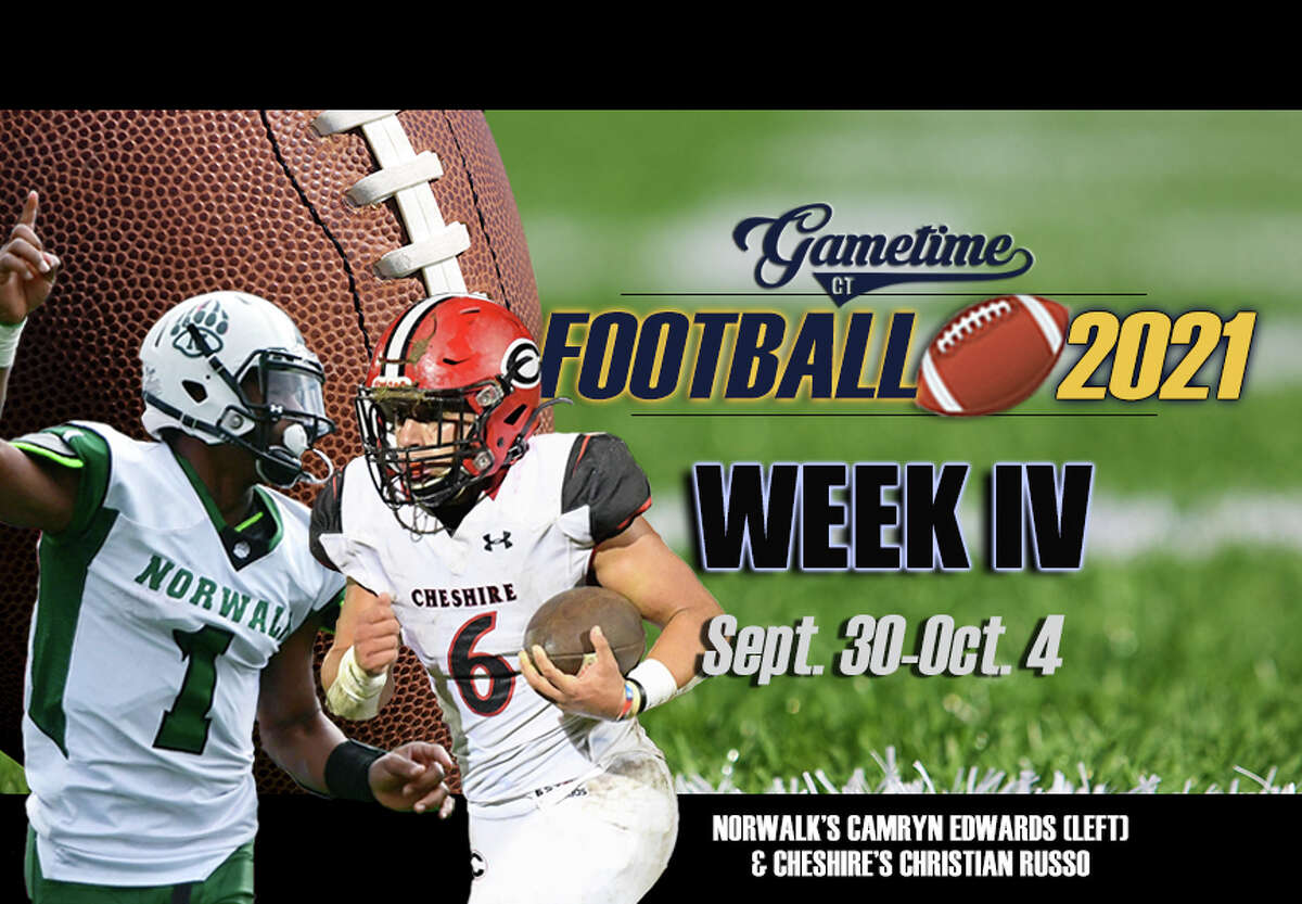 Highlighting Week 4's Slate is No. 8 Cheshire (3-0) heads to Norwalk (3-0) on Saturday in the GameTimeCT Game of the Week.