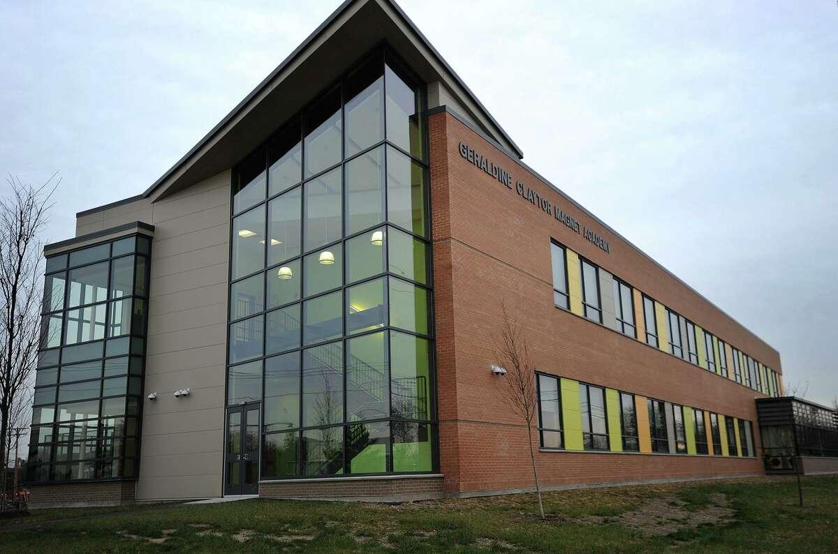 The new Geraldine Claytor Magnet School in Bridgeport, Conn. on Wednesday, December 21, 2016.