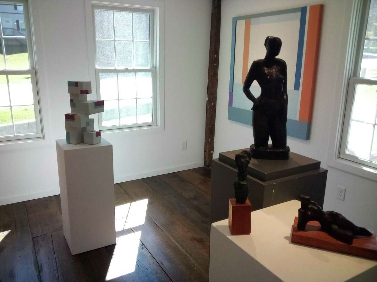 Arthur Matuszewski, an art restorer and artist, renovated and restored the former home of Gilyard's Outfitters on Route 202, His gallery, AMArthouse, opens to the public Saturday with a show featuring the work of Richard Pitts, Chris Kelly and Robert Messyasz.