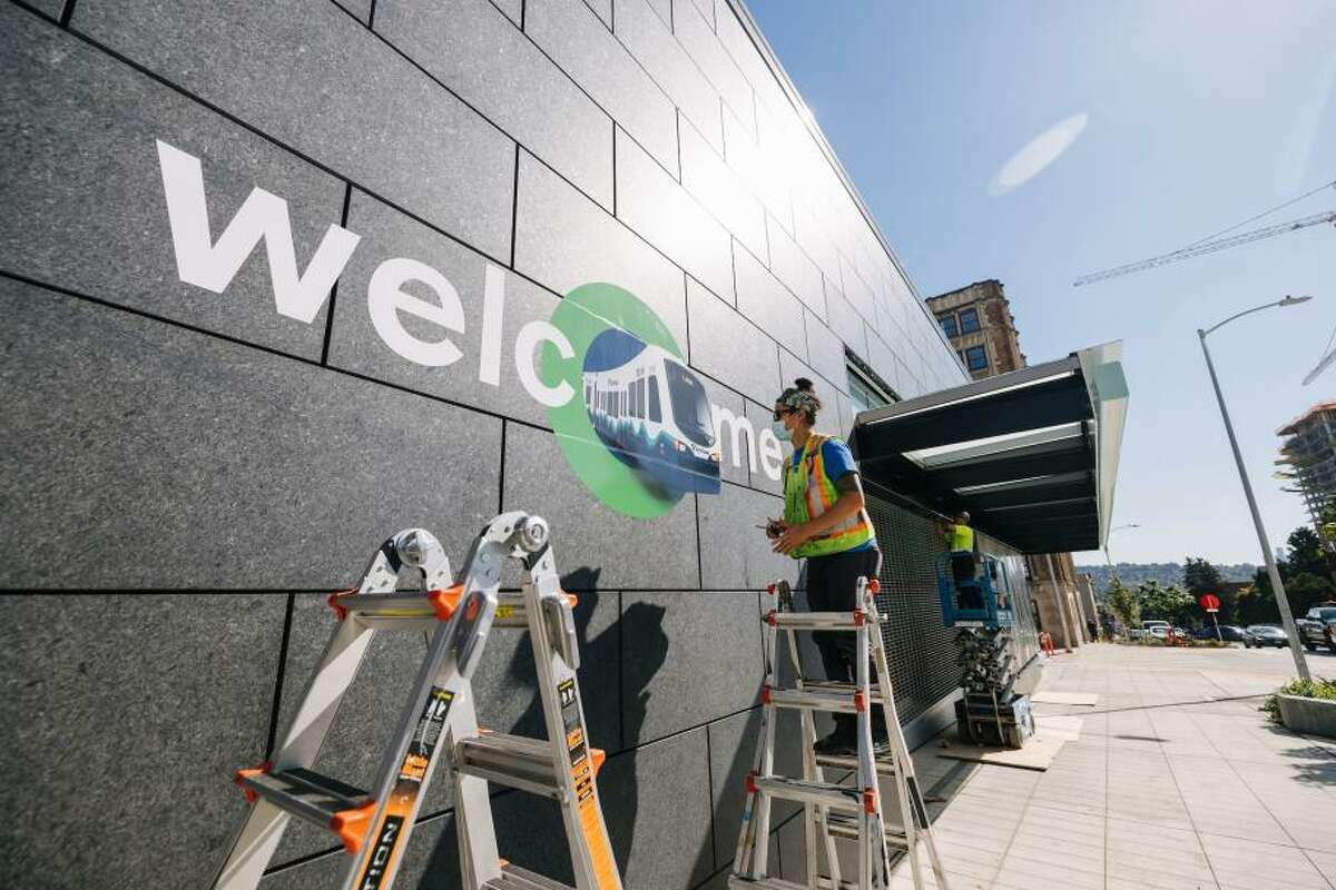 Sound Transit's Northgate station prepares for opening day.