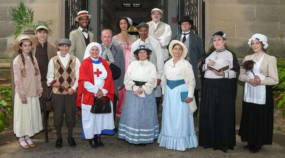 Vintage Voices will be giving walking tours at Alton Cemetery, 1205 E. 5th St., noon-2:30 p.m. Saturday, Oct. 2, and Sunday, Oct. 3.
