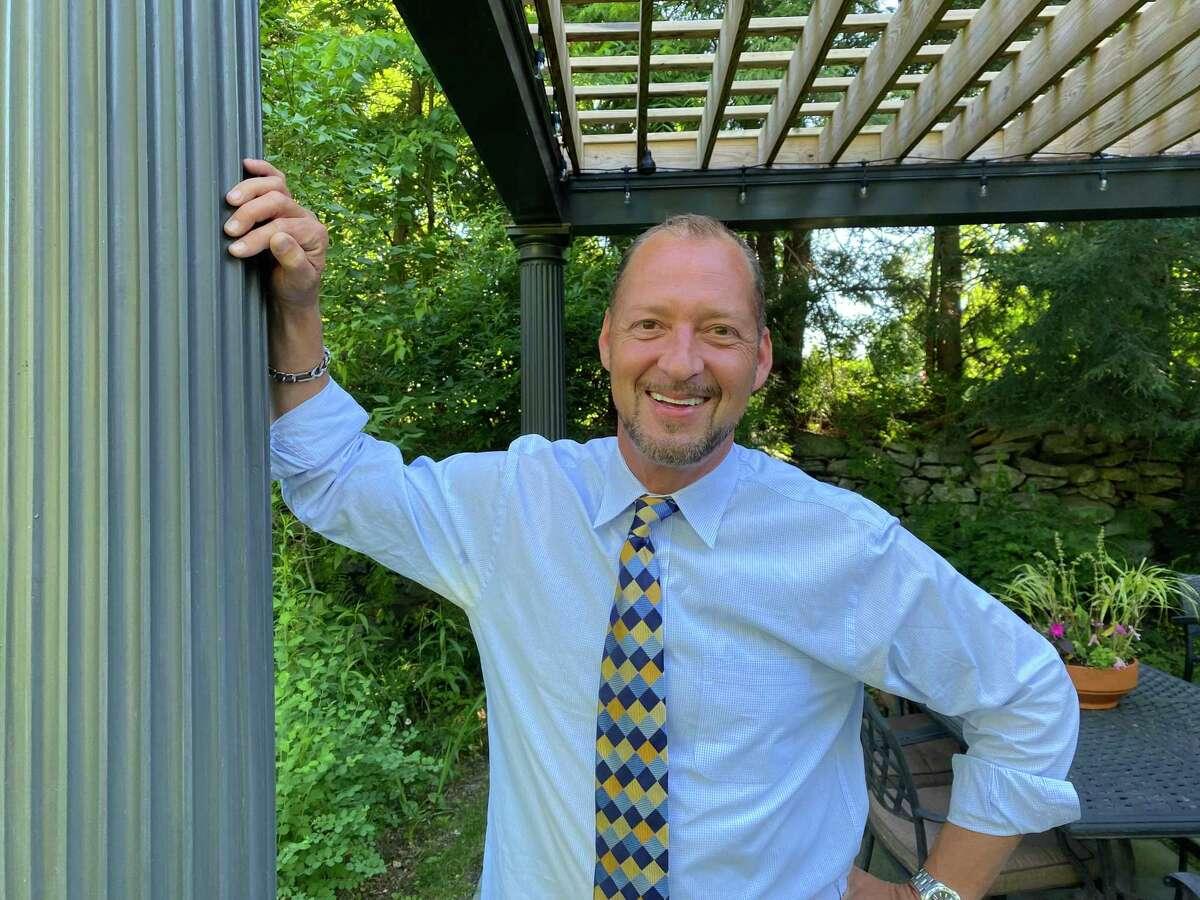 Roxbury First Selectman candidate Patrick Roy