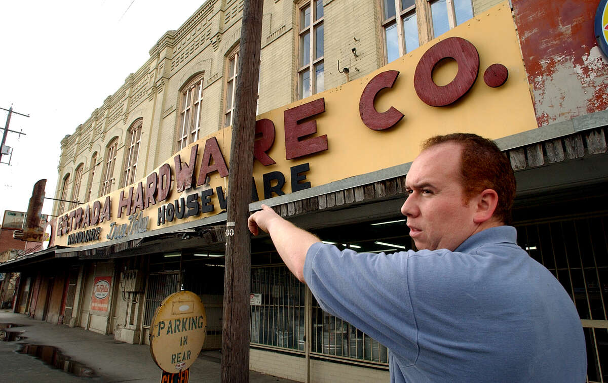 The building that once housed the Estrada Hardware Store was sold last month.