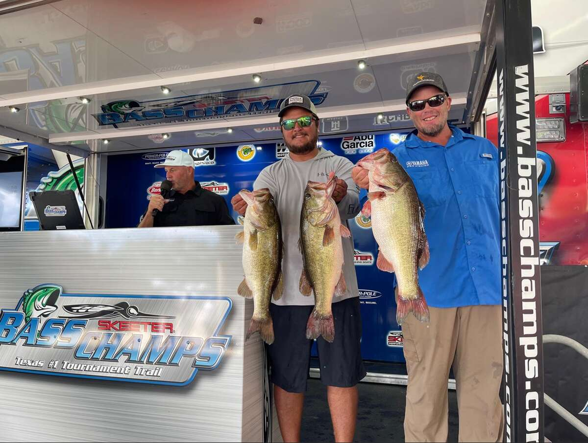 Shaine Campbell and Keith Combs won $60,000 at the Techron TX Shootout on Sam Rayburn on Sept. 12.