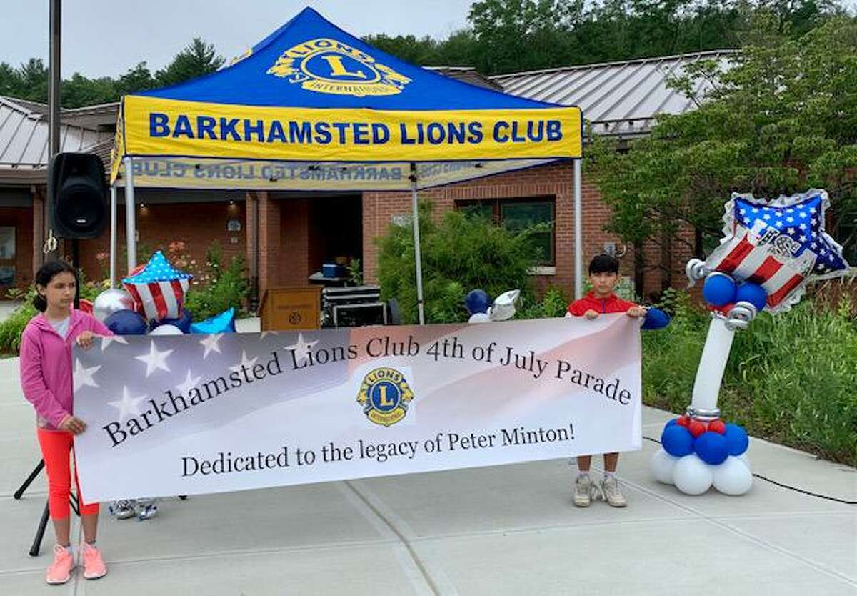 Barkhamsted Lions Club will celebrate its 55 year anniversary on Oct. 30 by hosting its annual environmental cleanup event in Pleasant Valley starting at the Barkhamsted Town Hall at 9 a.m. The public is invited to participate. Pictured are club members on July 4.