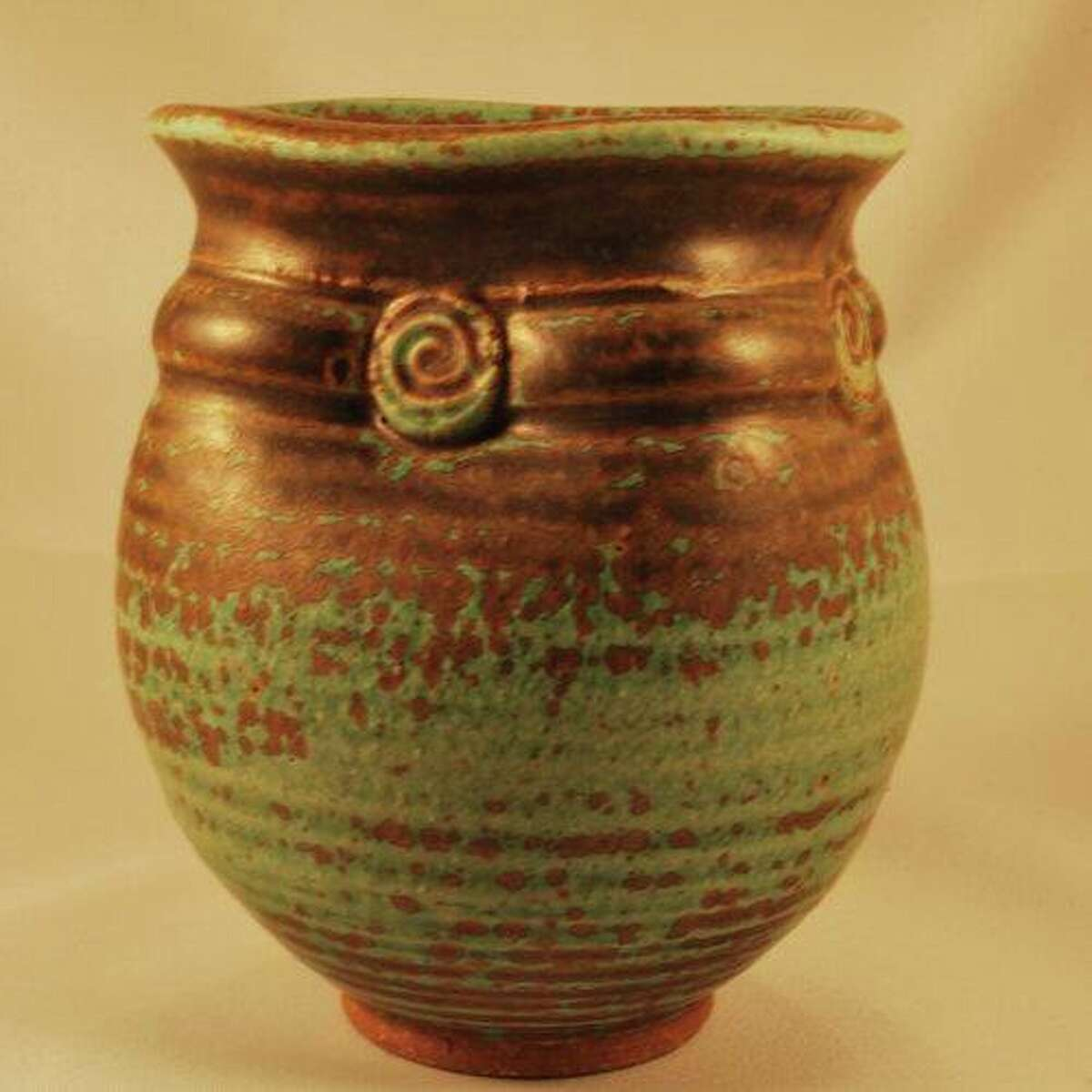 Pottery by Drew Montgomery, pictured, Kelly Potter, Naoko Ojio and Sanah Peterson are just some of the works that will be featured in this year's Clay Ways show Oct. 16.17.