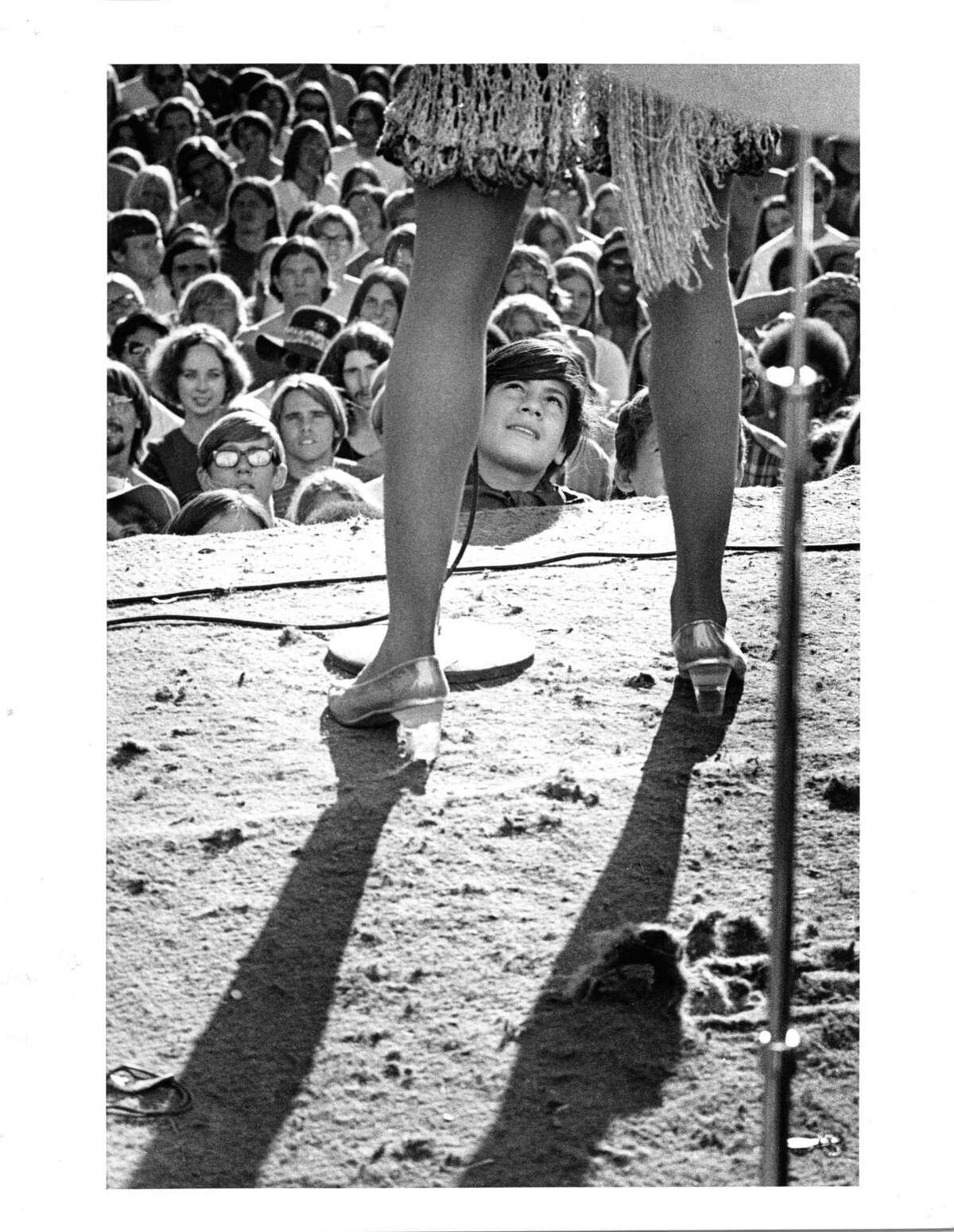 """The Fan,"" Gold Rush Festival, Stockton, by Robert Altman."