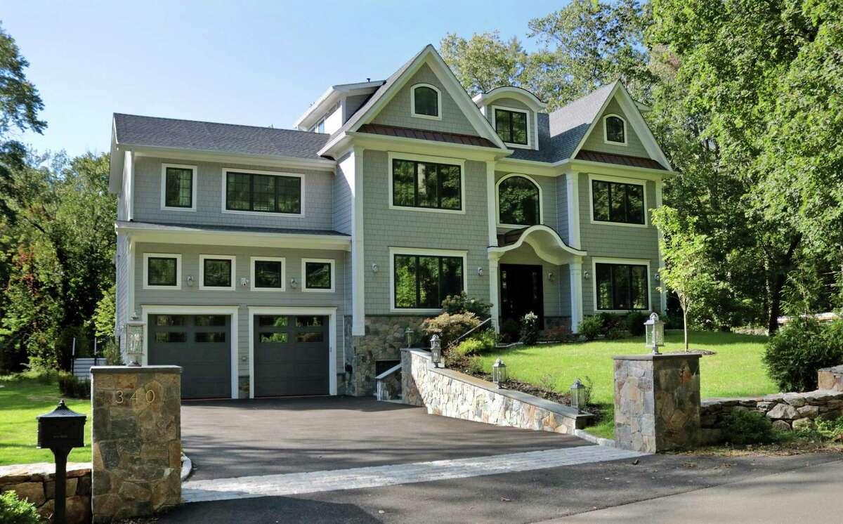 Homes like this one on at 340 Cognewaugh Road in Cos Cob on September 22, 2021, which feature a number of energy-saving features, are in particular demand, according to a Greenwich real estate broker.