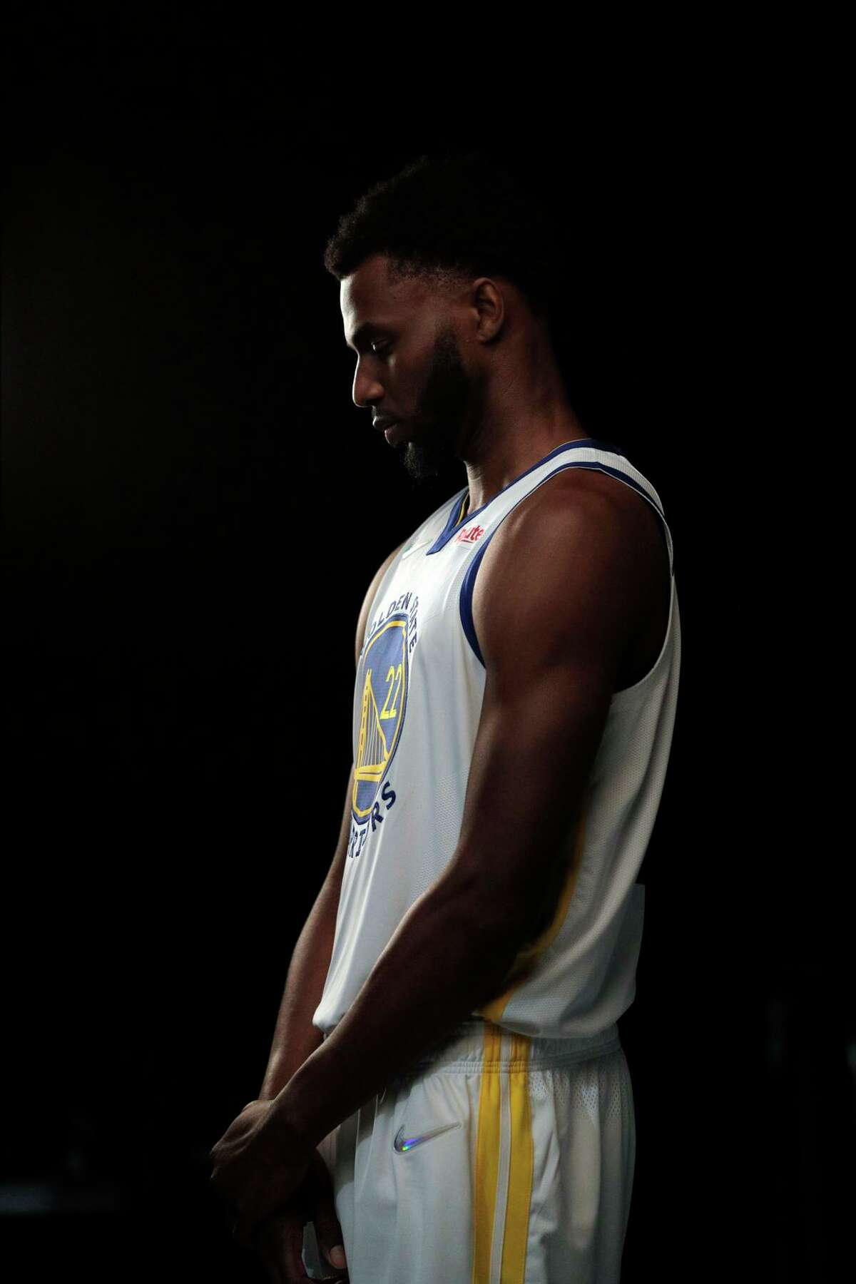 Andrew Wiggins of the Golden State Warriors has said he doesn't plan to get vaccinated against COVID-19. He's in the minority in the majority-Black NBA, where more than 90% of players are estimated to be fully vaccinated.