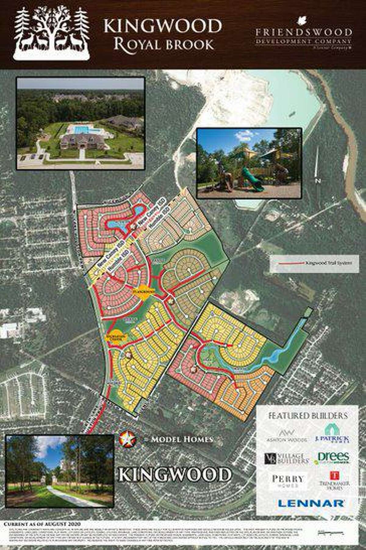 The final piece of the Kingwood puzzle is nearly complete with the completion of Royal Brook.