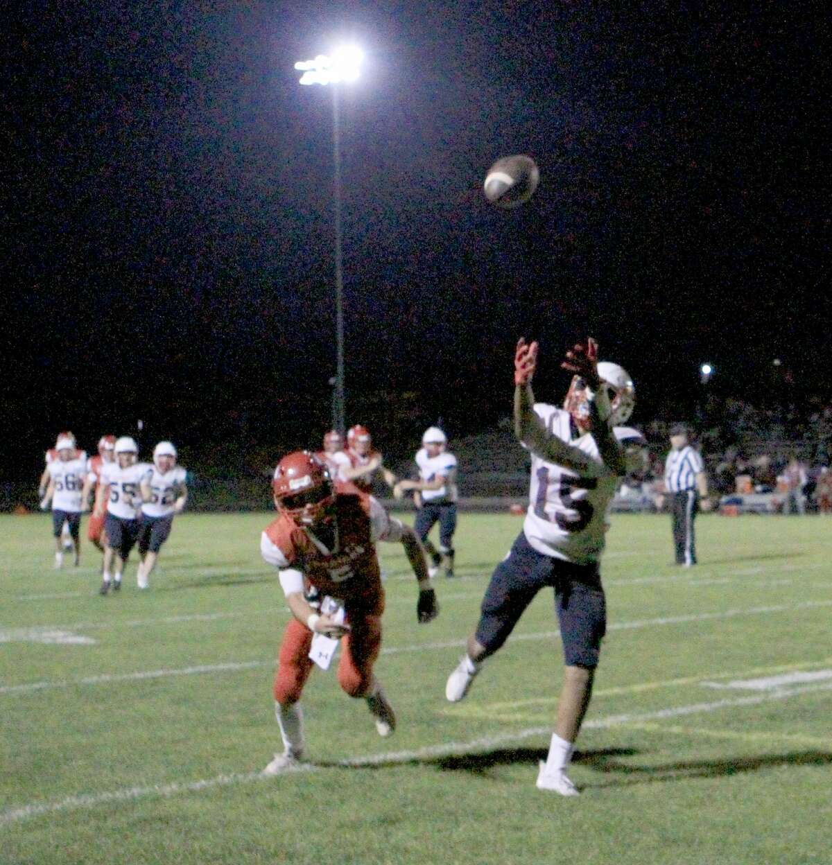 On Friday night, the Big Rapids football team defeated Chippewa Hills 41-8 at Warrior Field.