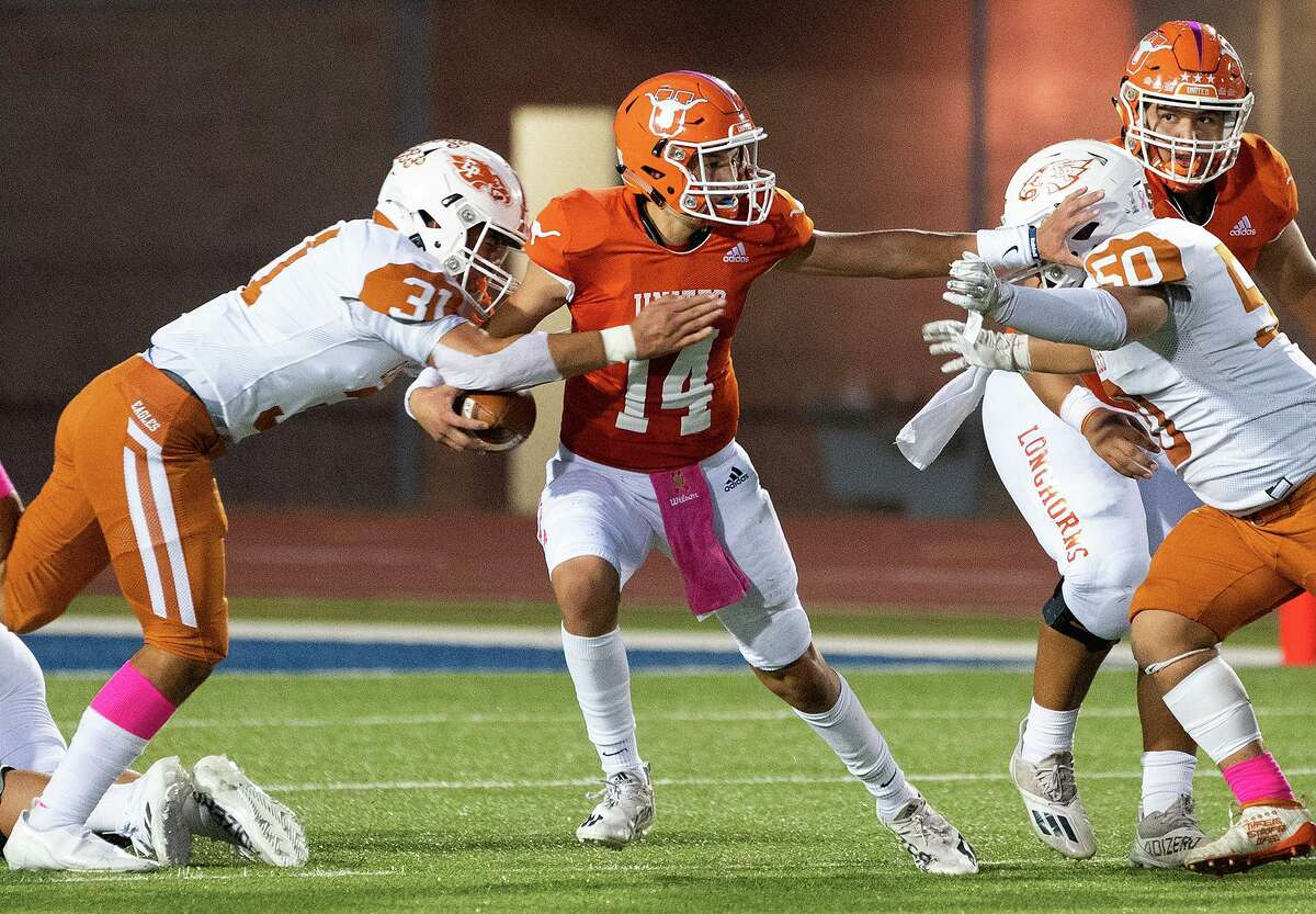 Atzel Chavez Jr. and the United Longhorns remain winless on the year as they fell to Eagle Pass on Friday.