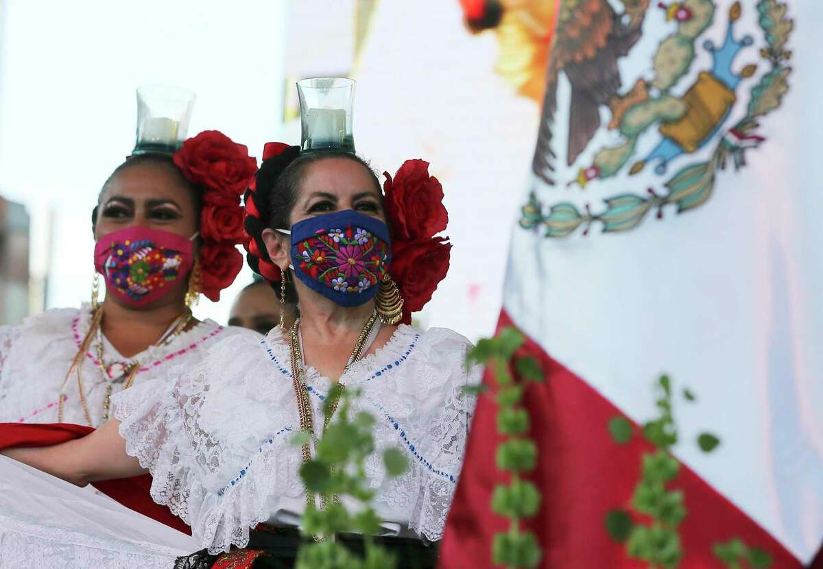 Dancers kick off Hispanic Heritage Month on Wednesday, Sept. 15 at Historic Market Square. Monthlong events and activities are planned to commemorate the celebration.