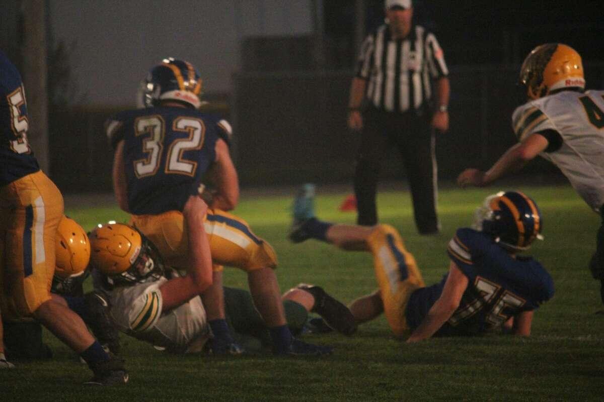 Evart's football team was too much on Friday night against McBain