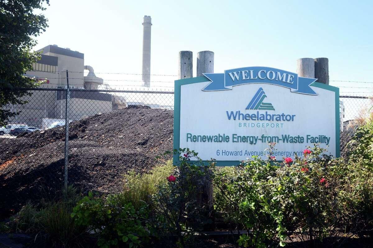 Wheelabrator Bridgeport, in Bridgeport, Conn. Sept. 27, 2021.