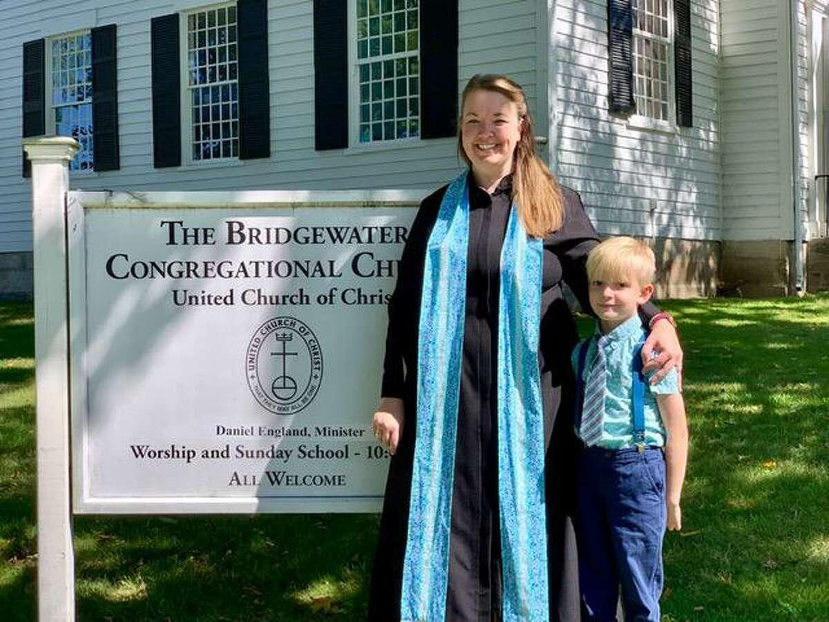 Abby Gackenheimer and her son Keadyn Gackenheimer
