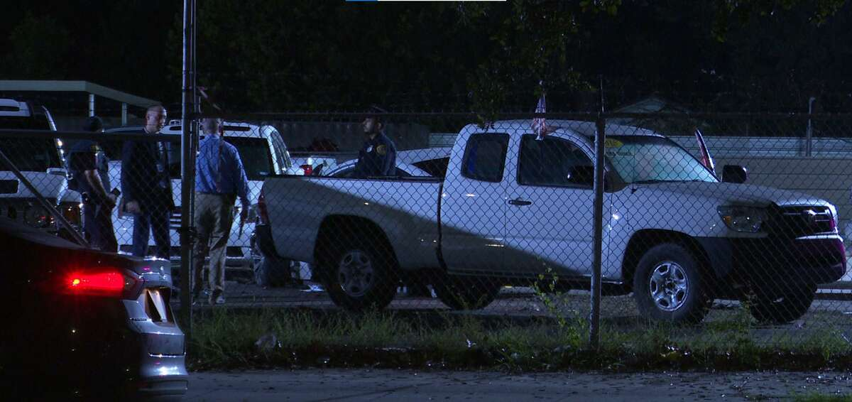 A couple was shot at by occupants of a vehicle in a park, police said. The man was struck by the gunfire and later died from his wounds.