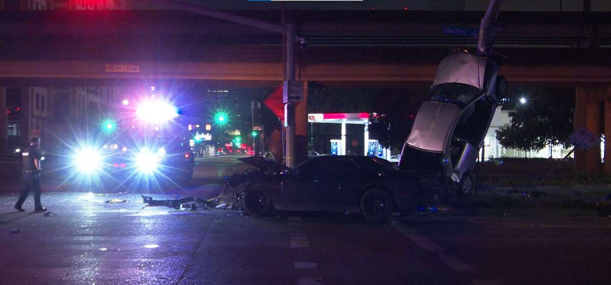 A 6-year-old was injured in a car crash after a male ran a red light and struck their parent's vehicle.