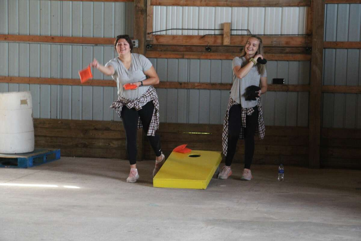 The Cornhole tournament provided excitement for kids and adults of all ages.