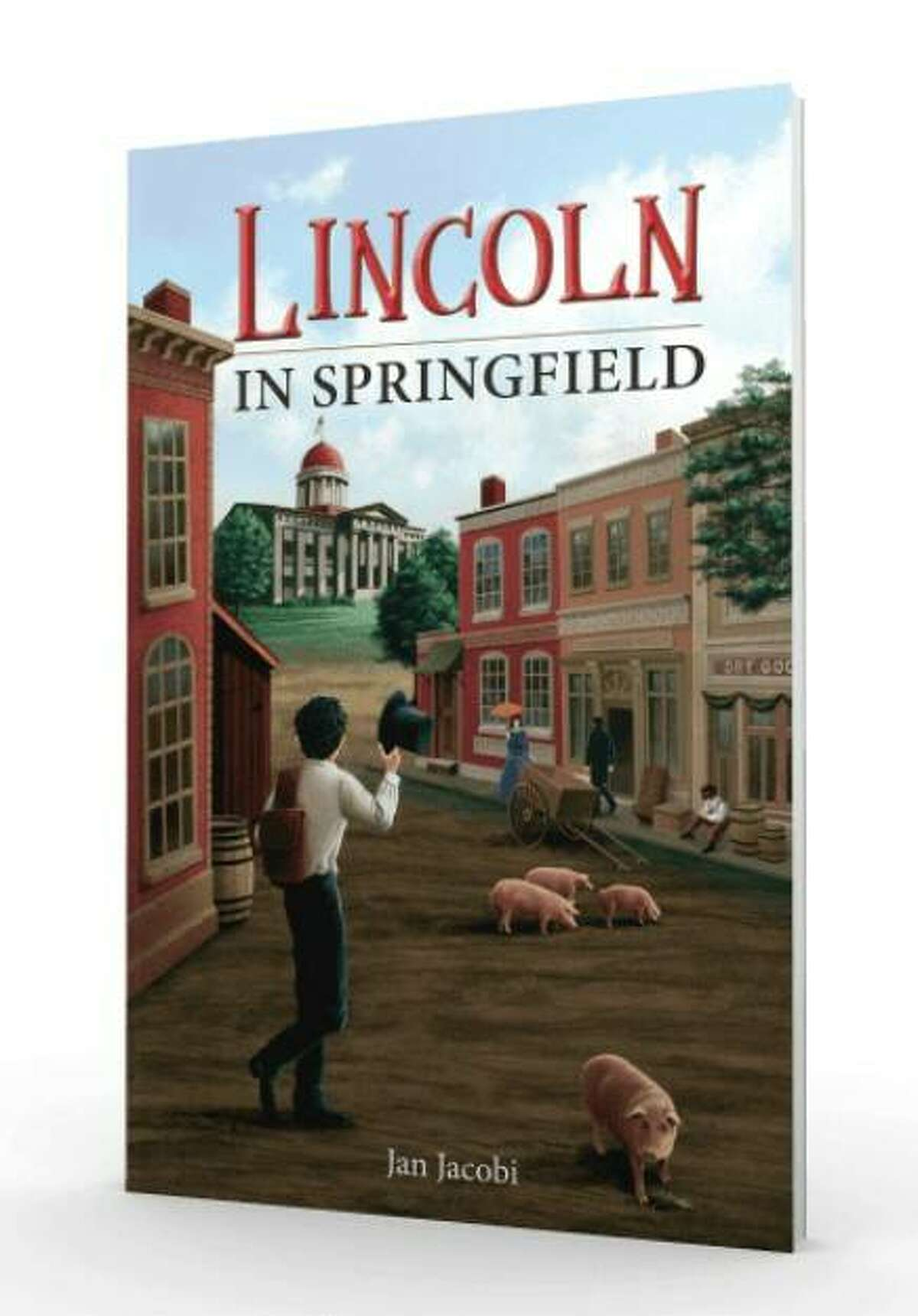 """Reedy Press has released """"Lincoln in Springfield"""" by Jan Jacobi, who will be at the fourth annual Edwardsville Book Festival 9 a.m. to 3 p.m. Saturday, Oct. 9, at Edwardsville City Park."""