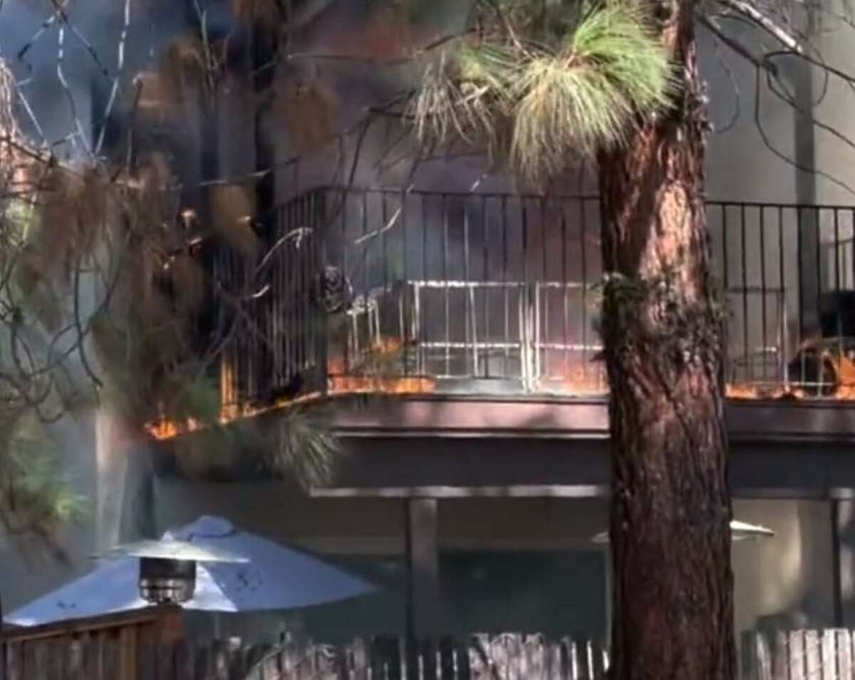 A residential fire displaced four families living in a 4-unit apartment complex in Castro Valley on Friday, Oct. 1, 2021.